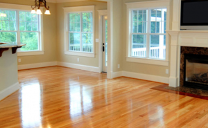 hardwood floors for a new home