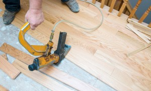 Sub-flooring for hardwood flooring