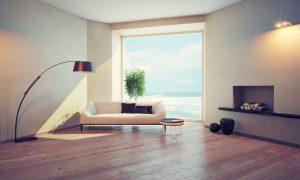 fading hardwood flooring